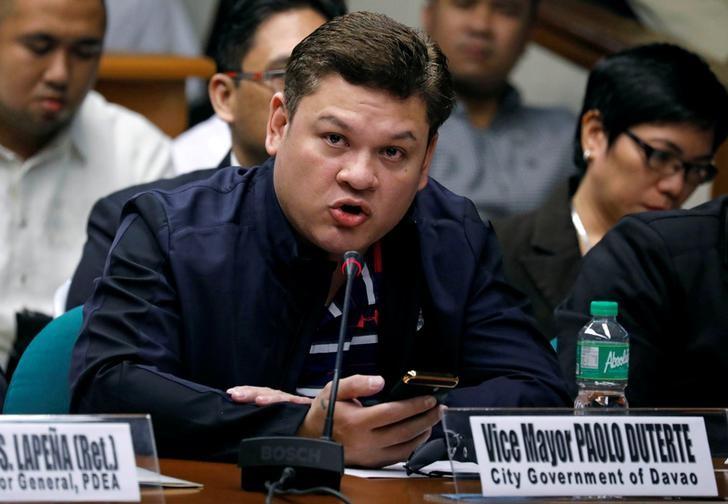 باولو دوتيرتي نجل الرئيس الفلبينى
