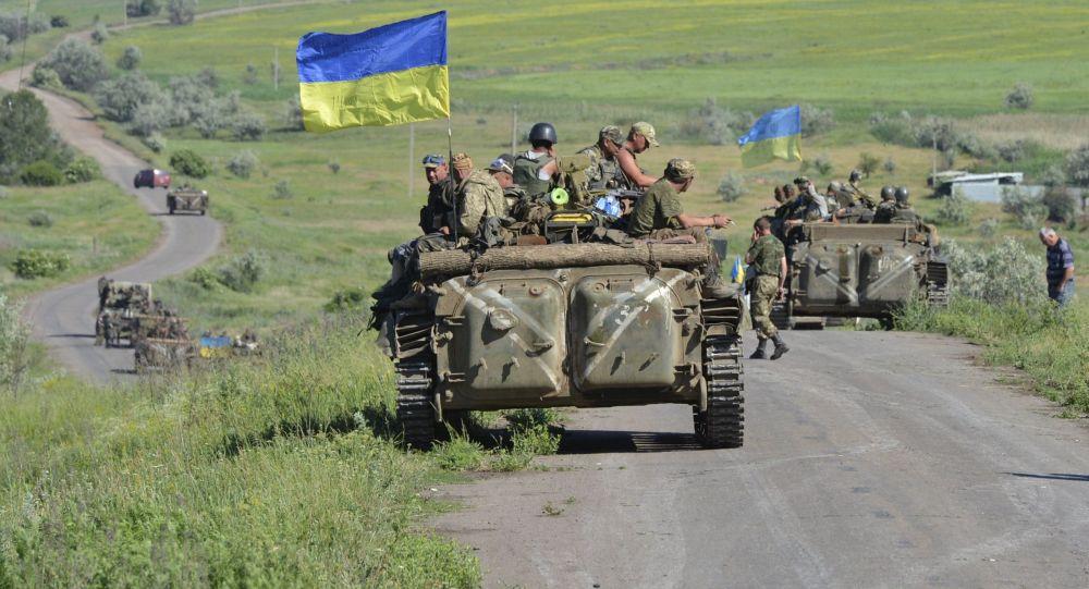 عناصر الجيش الأوكرانى