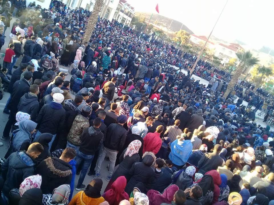احتجاجات بالمغرب - أرشيفية