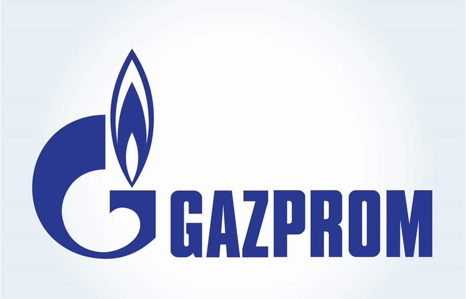 شعار شركة جازبروم الروسية