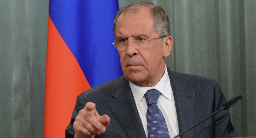 وزير الخارجية الروسي سيرجيلافروف