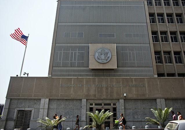 مقر السفارة الأميركية في تل أبيب