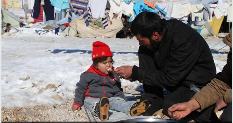 لاجئون سوريون في لبنان  صورة أرشيفية