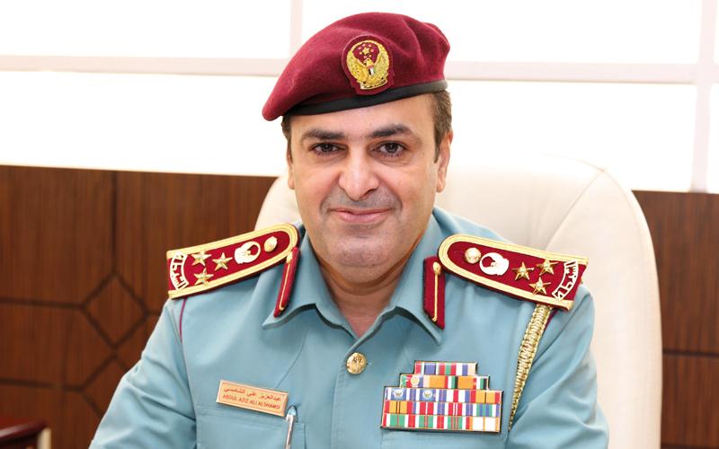 العميد عبدالعزيز علي الشامسي