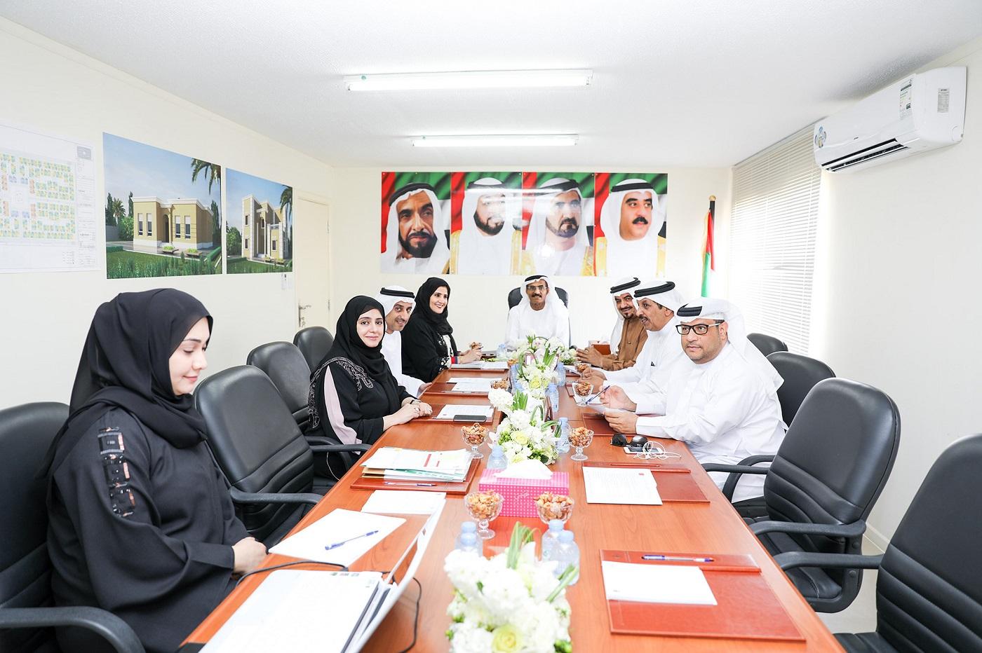 اجتماع مجلس إدارة برنامج الشيخ زايد للإسكان