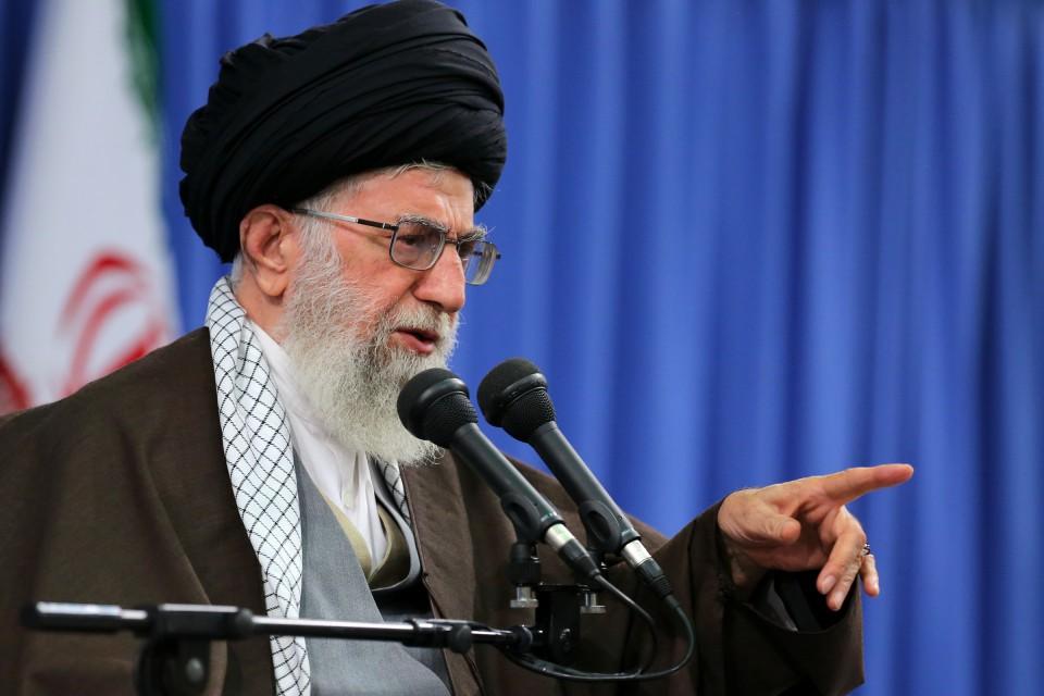 لمرشد الأعلى الإيراني علي خامنئي