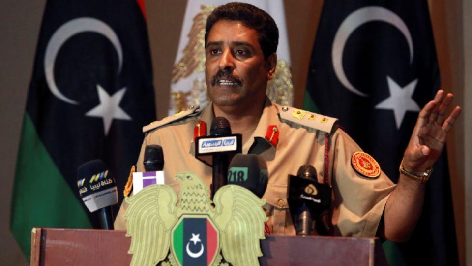 المتحدث باسم الجيش الوطني العميد أحمد المسماري