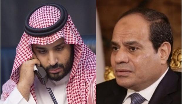 السيسي يتلقي اتصالا من ولي العهد السعودي