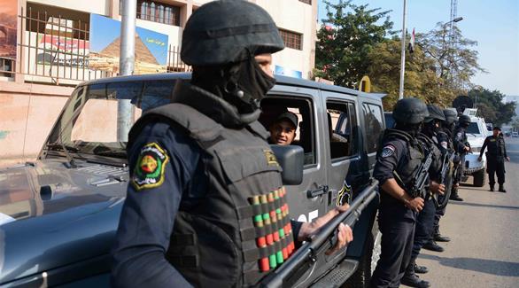 قوات من الداخلية المصرية