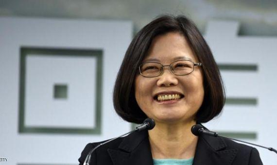 رئيسة تايوان تساي إينج وين