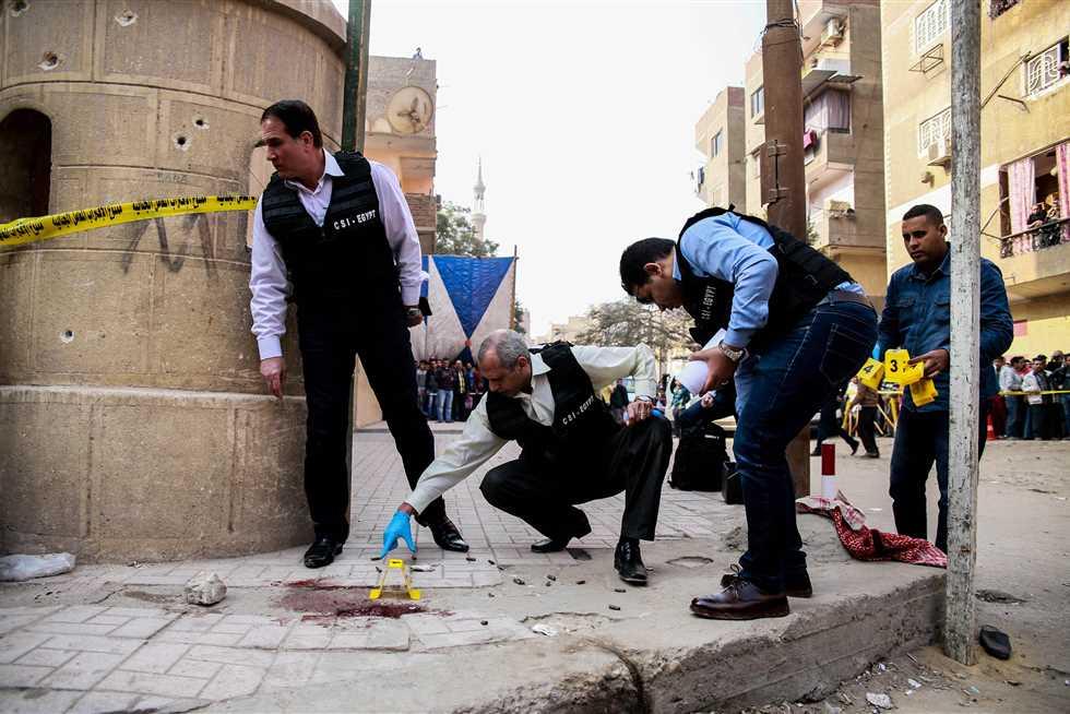 هجوم كنيسة حلوان المصرية