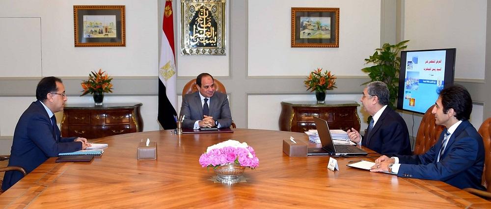 السيسي يوجه بمواصلة جهود التحديث الشامل لقطاع الكهرباء