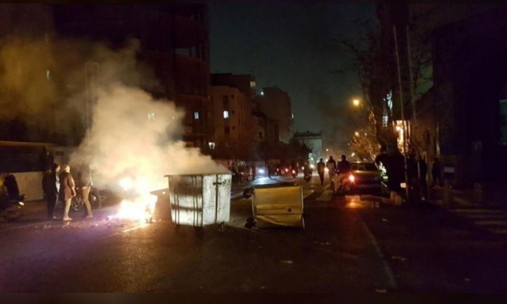 مظاهرات في عدد من المدن الإيرانية