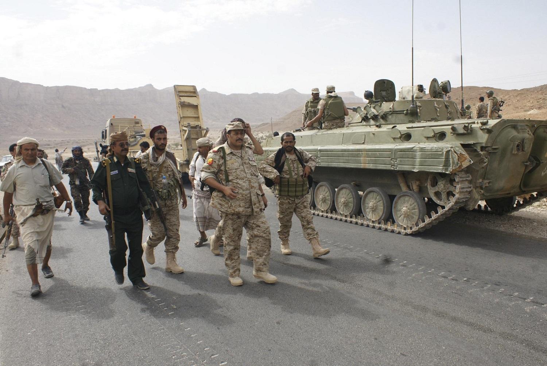 عناصر الجيش اليمنى (أرشيقية)
