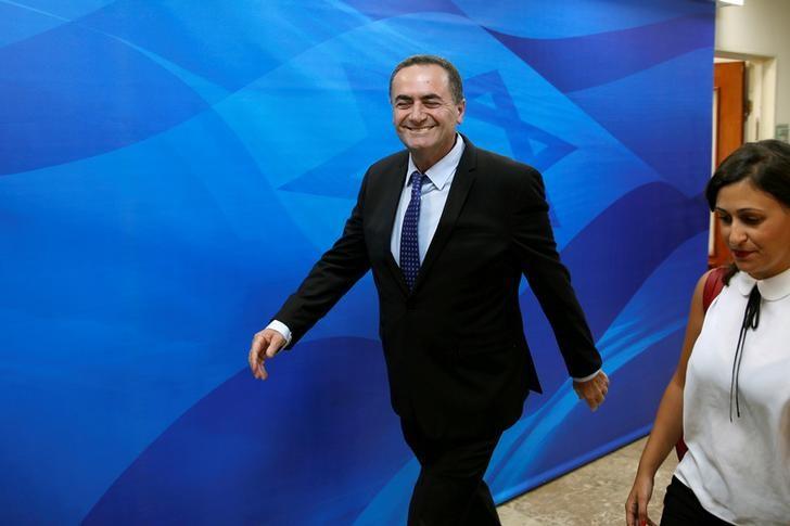وزير المخابرات الإسرائيلى يبدى فرحه بمظاهرات إيران - رويترز