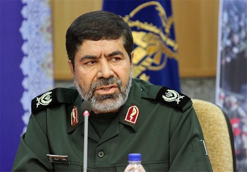 المتحدث الرسمي باسم الحرس الثوري، العميد رمضان شريف