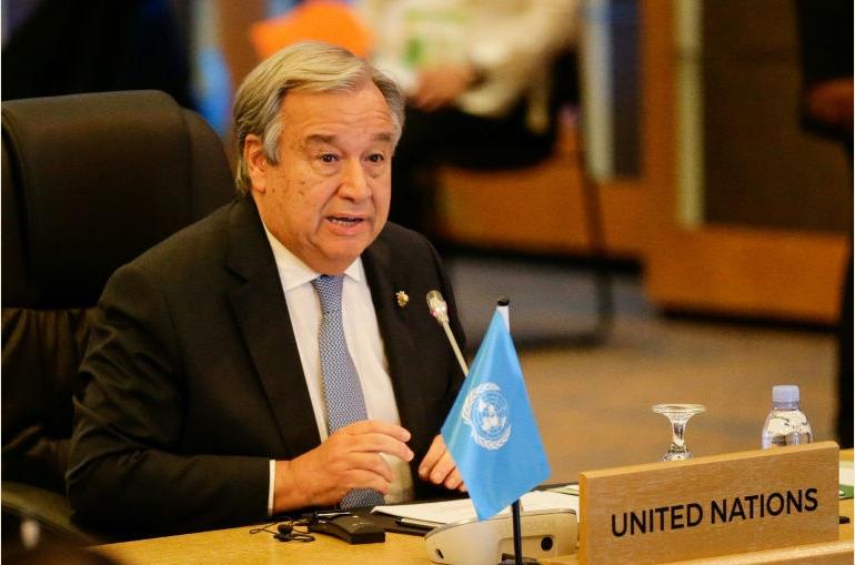 الأمين العام للأمم المتحدة انطونيو جوتيريش