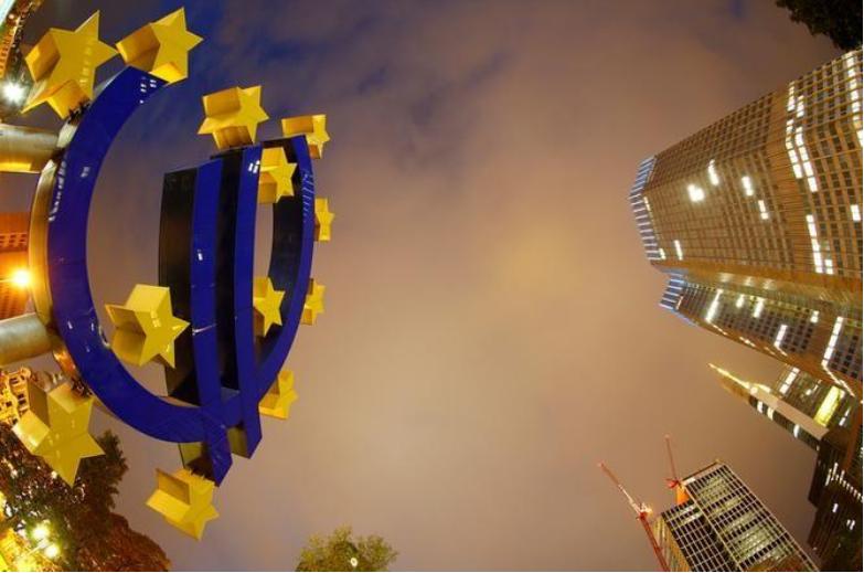 مقر البنك المركزي الأوروبي في فرانكفورت بألمانيا