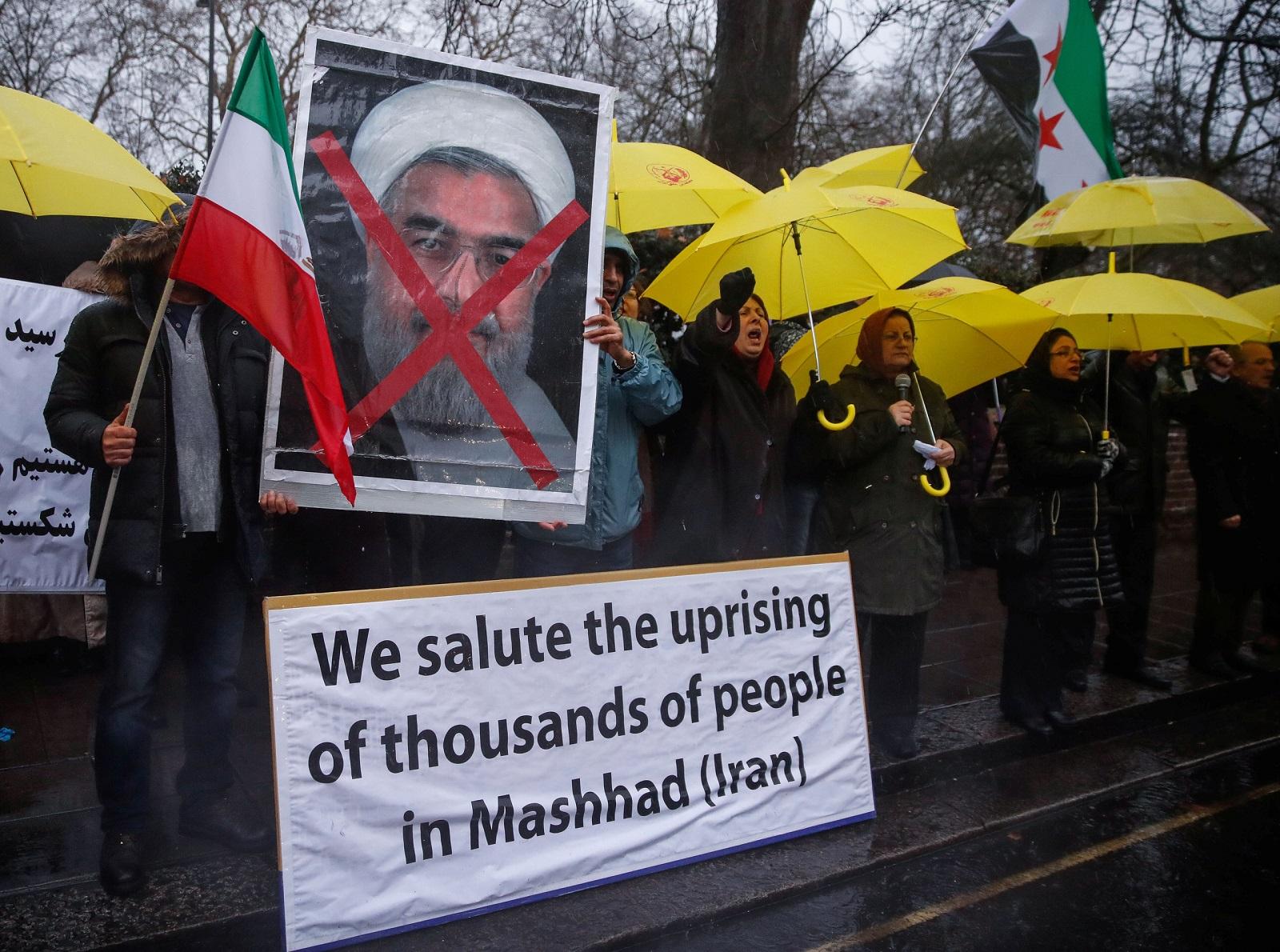 الاحتجاجات الحالية في إيران