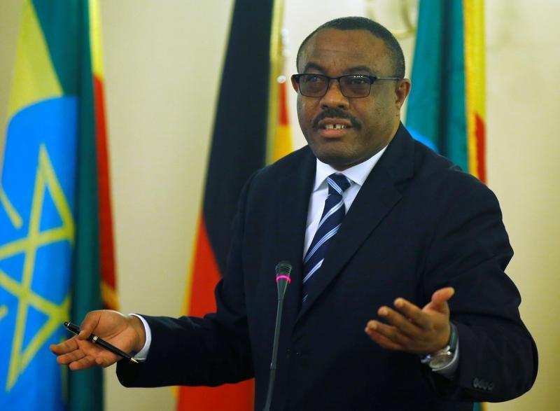 هايلي مريم ديسالين رئيس وزراء إثيوبيا