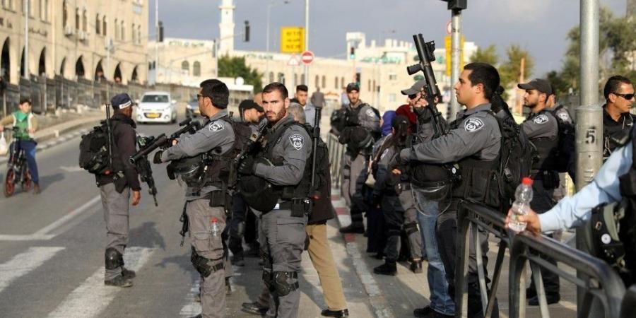عناصر شرطة الاحتلال الإسرائيلى