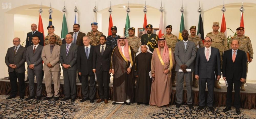 سفراء دول التحالف في مقر وزارة الخارجية السعودية بالرياض