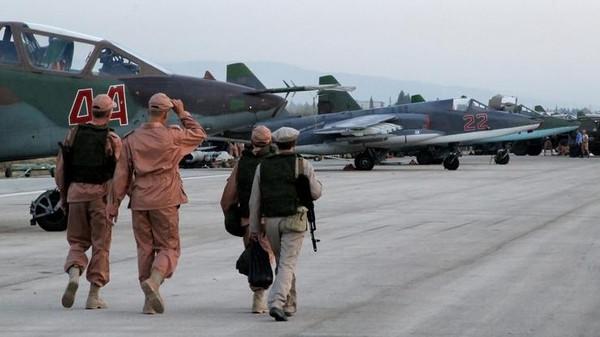 طائرات بقاعدة حميميم بسوريا