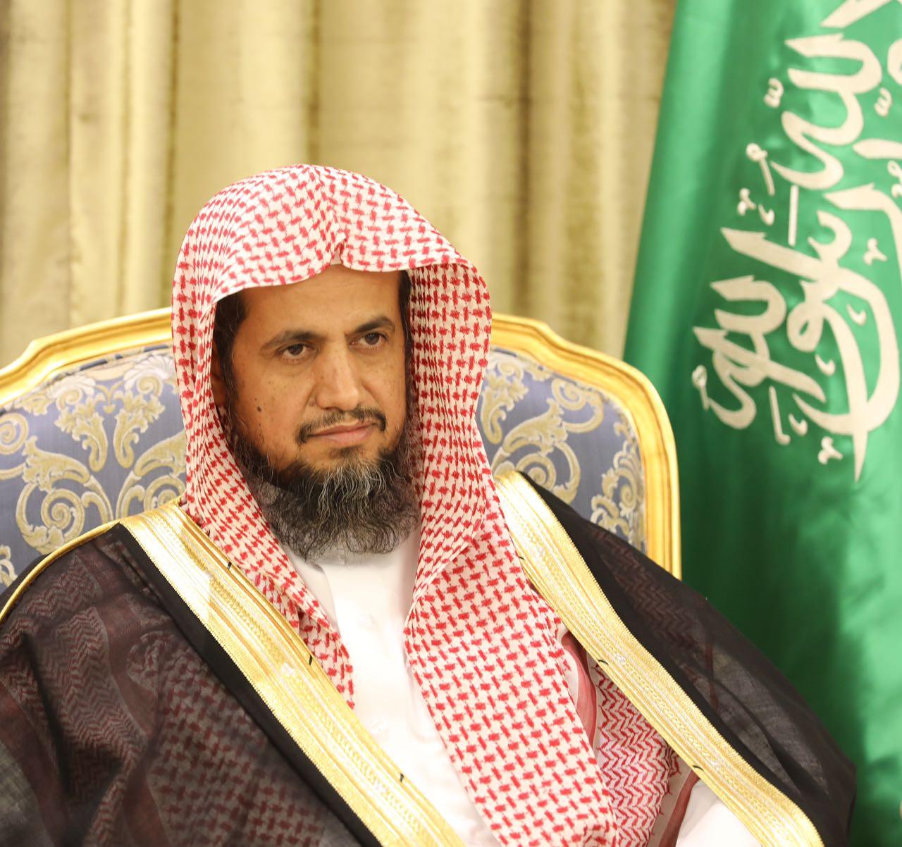 النائب العام الشيخ سعود بن عبدالله المعجب