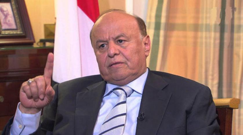 الرئيس اليمنى عبدربه منصور هادي