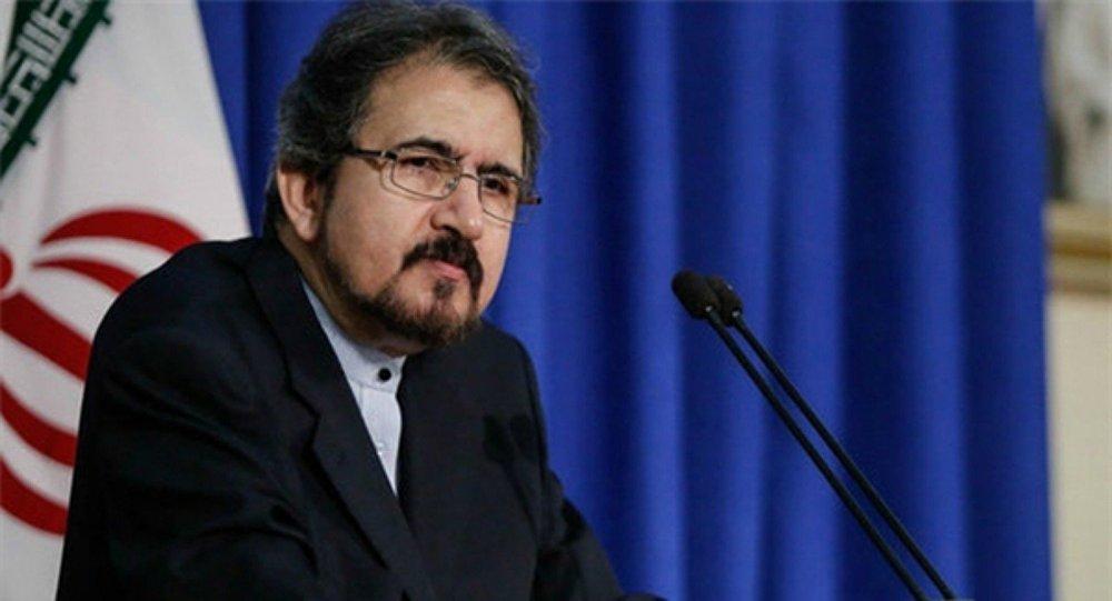 بهرام قاسمي - المتحدث باسم وزارة الخارجية الإيرانية