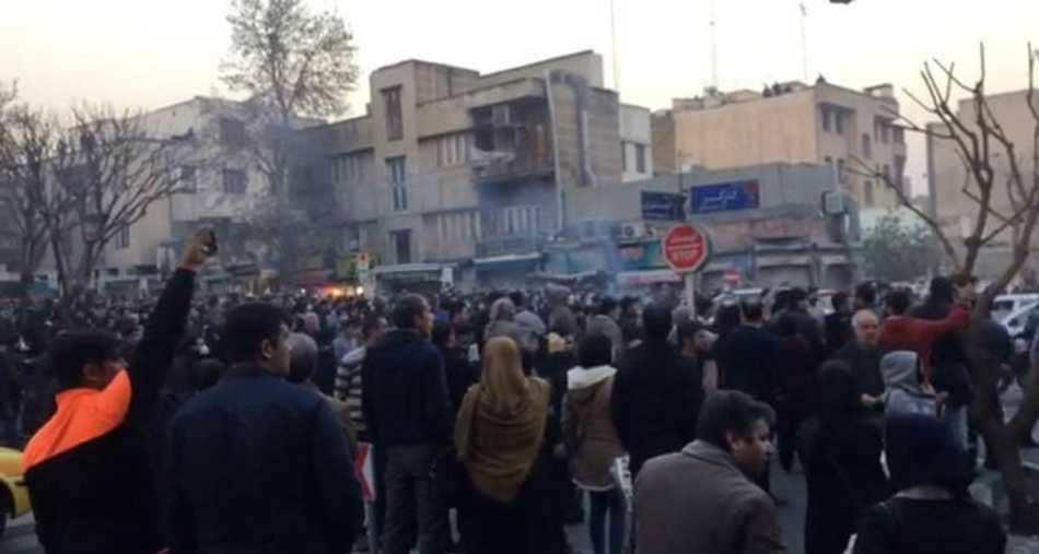 احتجاجات في العاصمة الإيرانية