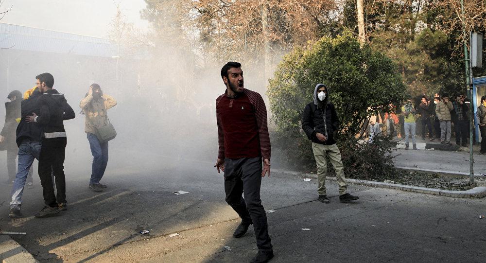 الإحتجاجات الإيرانية