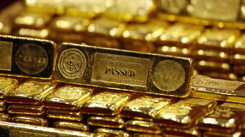 تراجع الذهب