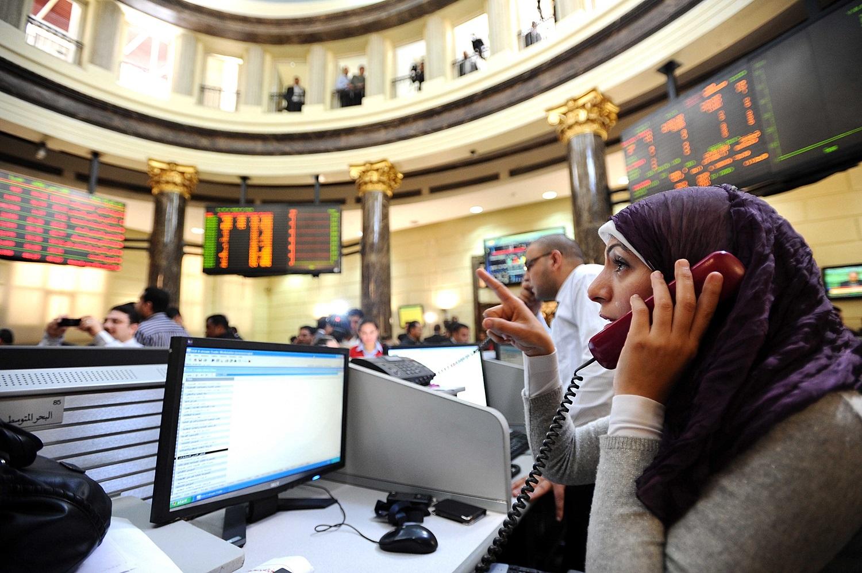 ارتفاع البورص المصرية