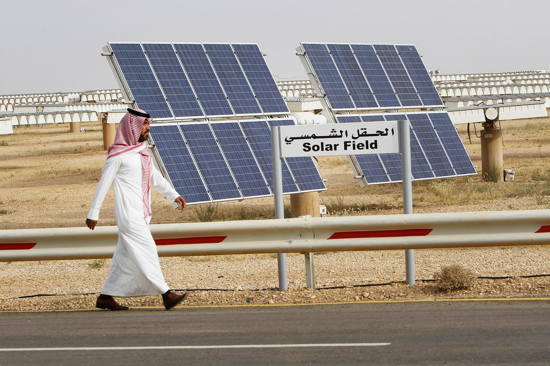 إحدى مشاريع أكوا باور السعودية