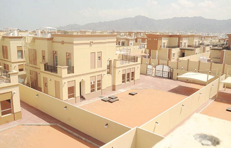 إحدى مشروعات برنامج الشيخ زايد للإسكان