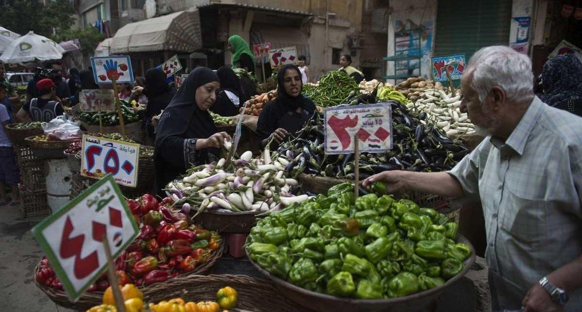 انخفاض التضخم بمصر