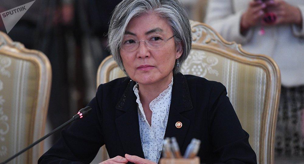 وزير الخارجية الكوري الجنوبي كانغ كيونغ-وا
