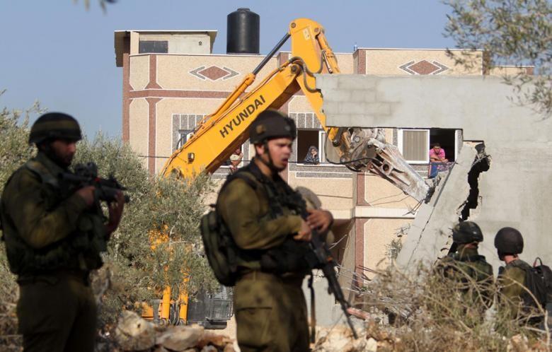 جرافات الاحتلال الإسرائيلي