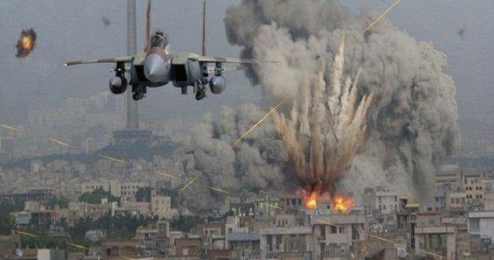 طائرات الاحتلال تقصف موقعا في رفح