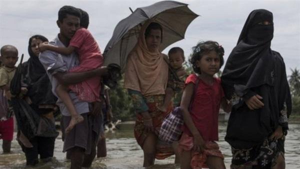 مسلمو الروهينجا ببنجلاديش