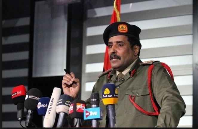 المتحدث باسم الجيش الوطني الليبي، أحمد المسماري