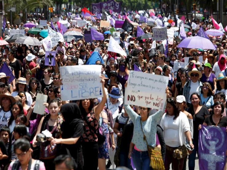 تظاهرات فى نيودلهي