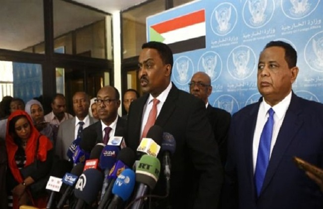 وزير خارجية إثيوبيا ورقينى قيبيو