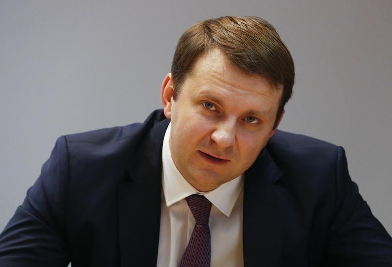 وزير الاقتصاد الروسي ماكسيم أورشكين