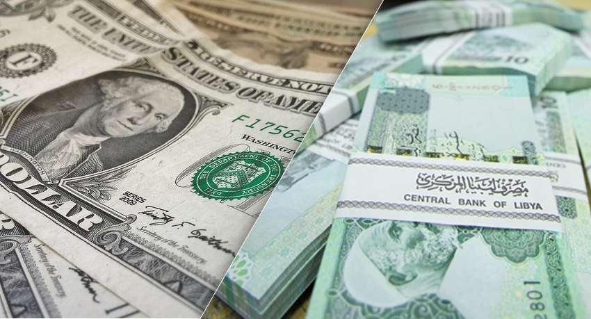 الدينار الليبي يقفز بقوة أمام الدولار
