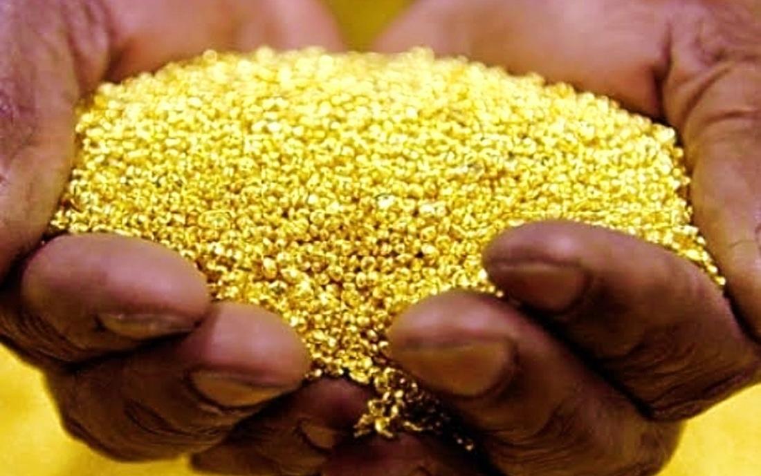 إنتاج الذهب في مالي