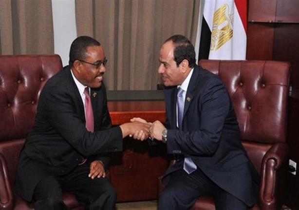 الرئيس السيسى ورئيس وزراء أثيوبيا