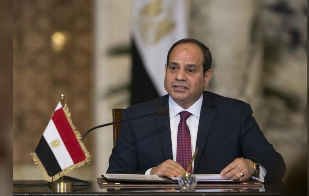 لرئيس المصري عبد الفتاح السيسي