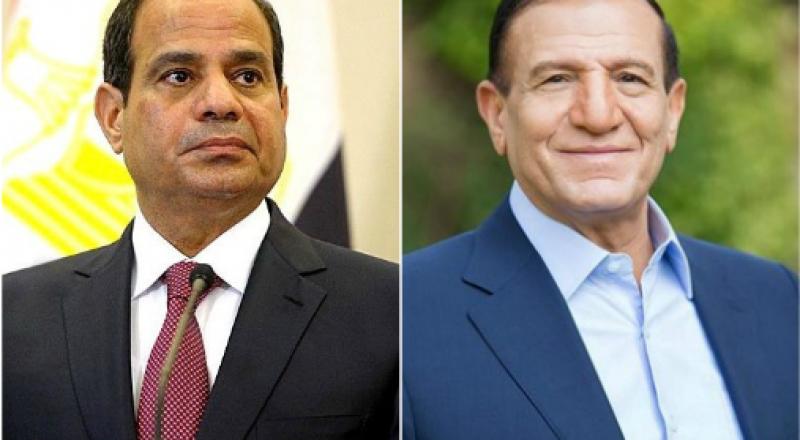الرئيس المصرى عبد الفتاح السيسي والفريق سامي عنان